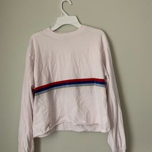 Brandy Melville Long Sleeve Cropped Tee